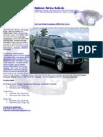 Car Hire Rental Arusha Tanzania 4x4