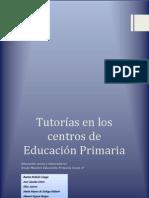 Tutorías en los centros de Educación Primaria