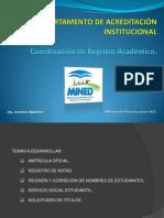ACREDITACION CAPACITACION SIRAI 2012