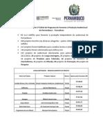 Resultado e números do 5º Edital do Funcultura