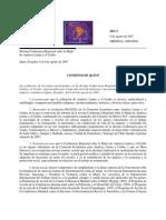 Consenso de Quito