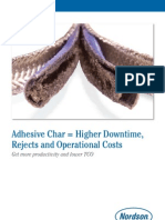 Adhesive Char Equals Higher Downtime Hose