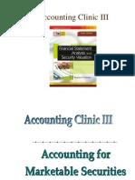 Accounting Clinic III