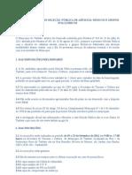 EDITAL DE SELEÇÃO PÚBLICA DE ARTISTAS-EditalSPP2011