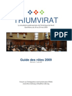 Guide Roles 2009