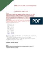 Legea Locuintei Nr114 Din 1996 Actualizata