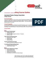 CADsoft Consulting Course Outline - Raster Design Essentials