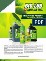 Catalogue Biolub Canada