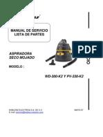 a WD 300 K2 y PV 330 K2