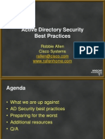 RAllen AD Security Best Practices