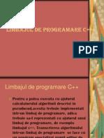 Limbajul de Program Are c++