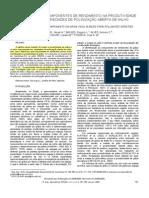CONTRIBUIÇÃO DE COMPONENTES DE RENDIMENTO NA PRODUTIVIDADE POLINIZAÇÃO ABERTA EM MILHO