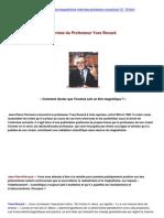 Magnetismehypnosecom Interview Du Professeur Rocard