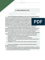 Analiza Firmei SC Prod Ardealul SRL