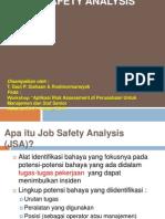Job SAFETY Analysis Workshop_2010