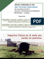 2011 Presentacion Oral Impactos en Suelo Cerdos a Campo 7 Jornadas Tecnicas Veterinarias