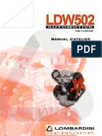 Manuel Atelier Lombardini LDW502