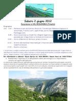 Amici della montagna Castions - Val Rosandra 2012