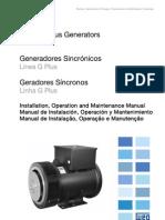 Manual Linha Geradores WEG (inglês) Plus