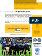 Sports Franchise Consulting and Advisory - Universal Consensus