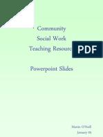 CSW Teaching