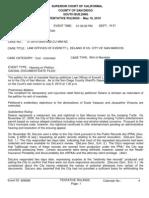 Cpra Writ Ruling Delano v San Marcos