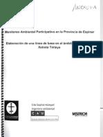 Monitoreo Ambiental Participativo en la Provincia de Espinar (Vicaría de Solidaridad)