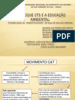 O enfoque CTS e a Educação Ambiental