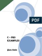 C pro Examble