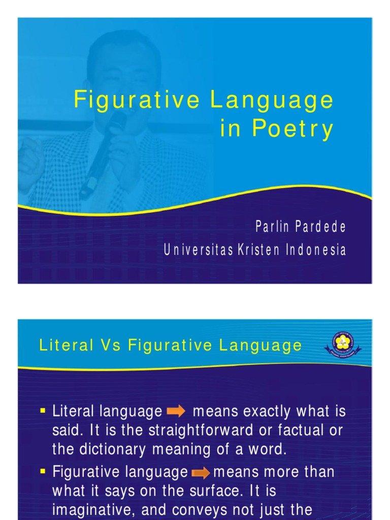 figurative language in poetry | metaphor | literary techniques