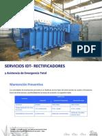 Servicios de Mantencion IDT