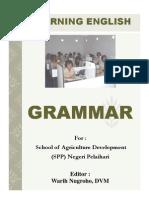 Learning English Grammar