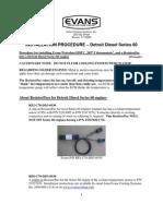HDTC Install Procedure DD Series 60 Ver 12Aug2011