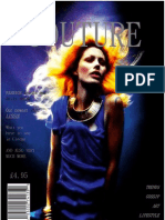 English Magazine '' Couture''