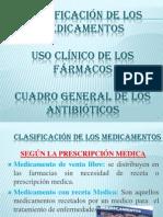 Clasificacion de Los Medicamentos