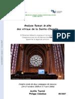 Ste-Chapelle Raman Vitraux