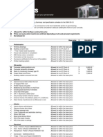 DWH 03-10 Pricing Summary and Specification Schedule 24-01-11