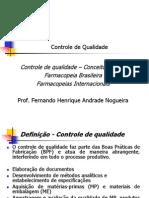 Conceitos Gerais Farmacopeia Brasileira