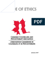 Code of Ethics en New