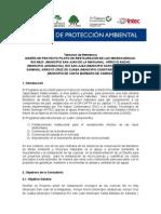 Terminos de Referenci Proyecto Piloto de Microcuencas