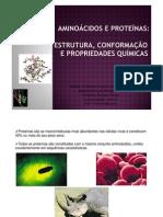 Aula 2vivi  - aminoácidos proteínas