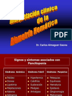 Interpretacion Clinia de La Biometria Hematica