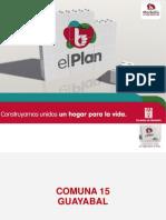Plan de Desarrollo 2012-2015 Comuna 15