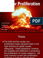 Nuclear Proliferation 2008