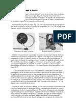 Termómetros de vapor a presión