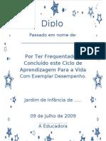 Diploma Estrelas