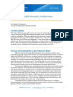 Cisco Dynamic Flexible Security Architecture
