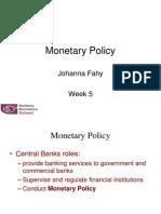 8. Monetary Policy (01.11.10)