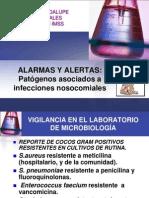 ALARMAS Y ALERTAS en Infecciones Nosocomiales