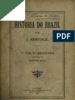 A História do Brasil. John Armitage